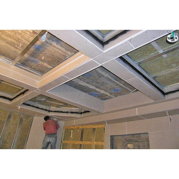 Как  сделать кессоны на потолке