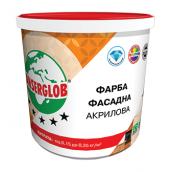Краска фасадная Anserglob акриловая 7,5 кг белый
