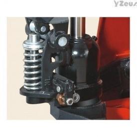 Тележка ручная гидравлическая CBY-DF25 красная