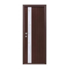 Двері міжкімнатні Новий Стиль КВАДРА Р Злата 600х2000 мм венге
