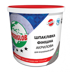 Шпаклевка Anserglob акриловая 1,5 кг