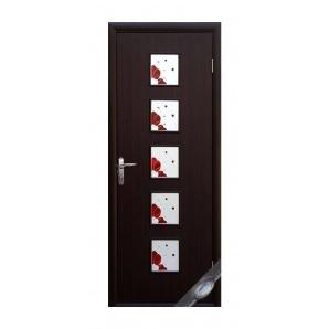 Двері міжкімнатні Новий Стиль КВАДРА Р Фора №1 600х2000 мм венге