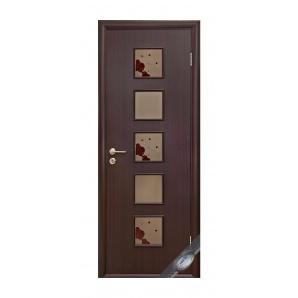 Двері міжкімнатні Новий Стиль КВАДРА Р Фора №2 600х2000 мм венге