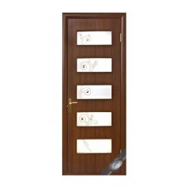 Двери межкомнатные Новый Стиль КВАДРА Р Дама 600х2000 мм орех