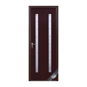 Двері міжкімнатні Новий Стиль КВАДРА Р Віра 600х2000 мм вишня
