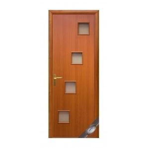 Двері міжкімнатні Новий Стиль КВАДРА Ронда 600х2000 мм вишня