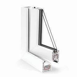 Металлопластиковое окно из профиля системы REHAU-Euro 60-Design 60 мм