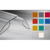 Профиль коньковый Кайлас-СМ 6,0 м прозрачный