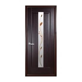 Двері міжкімнатні Новий Стиль МАЕСТРА Р Прем'єра 600х2000 мм венге