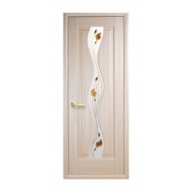 Двері міжкімнатні Новий Стиль МАЕСТРА Р Хвиля 600х2000 мм ясен