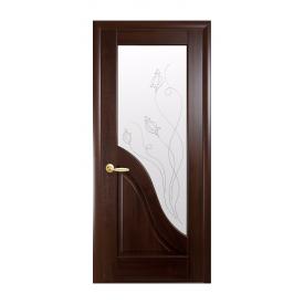 Двери межкомнатные Новый Стиль МАЭСТРА Р Амата Р2 600х2000 мм каштан