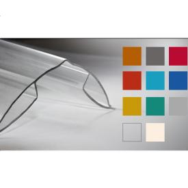 Коньковий профіль Кайлас-СМ 6,0 м прозорий