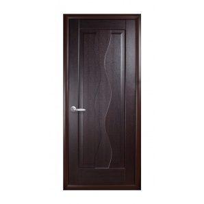 Двері міжкімнатні Новий Стиль МАЕСТРА Хвиля 600х2000 мм венге