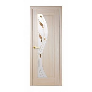Двері міжкімнатні Новий Стиль МАЕСТРА Р Ескада 600х2000 мм ясен