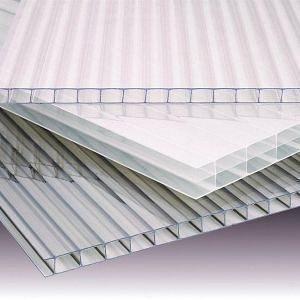 Стільниковий полікарбонат TM POLYGAL клас Premium 2100x6000x10 мм прозорий