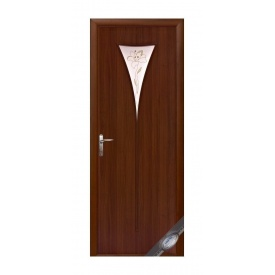Двери межкомнатные Новый Стиль МОДЕРН Р Бора 600х2000 мм орех