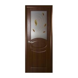 Двері міжкімнатні Новий Стиль ФОРТІС Р RT 600х2000 мм горіх