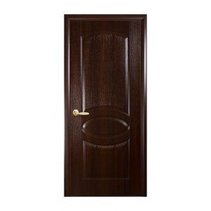 Двері міжкімнатні Новий Стиль ФОРТІС DeLuxe R 600х2000 мм каштан