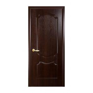 Двері міжкімнатні Новий Стиль ФОРТІС DeLuxe V 600х2000 мм каштан
