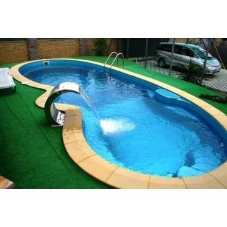 Строительство керамическо-композитного бассейна