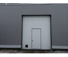Промислові секційні ворота DoorHan серії ISD01 2000х2000х40 мм білі (RAL9010)