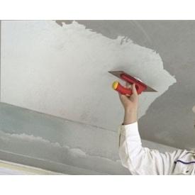 Шпаклевка потолка с выравниванием