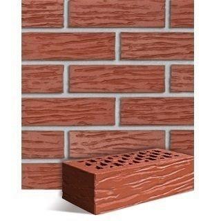 Клинкерный кирпич Roben Melbourne рифленый 240х115х71 мм красный натуральный