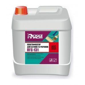 Пластифікуюча добавка Поліпласт ПГС-131 5 л