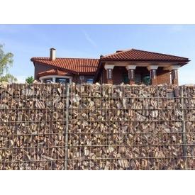 Забор из габионов 5х5х5 мм