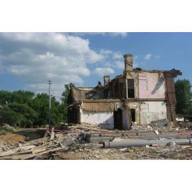 Ручной демонтаж домов