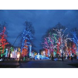 Новогоднее оформление парков