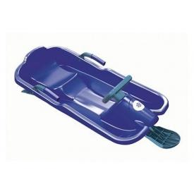 Санки с рулем Plastkon Скибоб 80х120х45 см синие