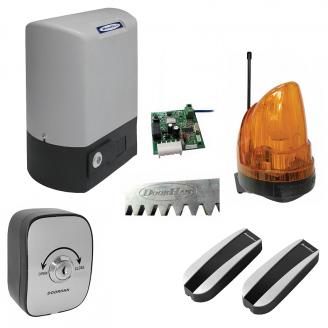 Привід для відкатних воріт з вбудованим блоком управління і приймачем DoorHan SLIDING-800 370 Вт