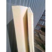 Термоізоляційна панель з пінополіуретану 40 кг/м3 1250х600х15мм