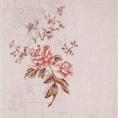 Обои виниловые Versailles на бумажной основе 0,53х10,05 м светло-коричневый (090-23)