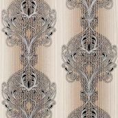 Шпалери вінілові Versailles на паперовій основі 0,53х10,05 м коричневий (096-23)