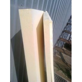 Термоизоляционная панель из пенополиуретана 40 кг/м3 1250х600х15мм