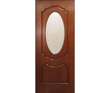Дверь межкомнатная Омис Шпон Оливия 800х2000 мм