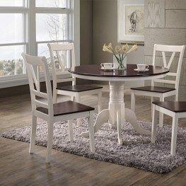Стол нераскладной Domini Элис 1060x1060x750 мм ваниль-вишня