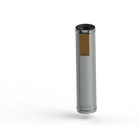 Труба для дымохода из нержавеющей стали в утеплении 220 мм