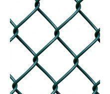 Сітка-рабиця з ПВХ покриттям 2,5х50х50 мм 1,2х10 м зелена