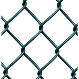 Сетка-рабица с ПВХ покрытием 2,5х50х50 мм 1,2х10 м зеленая