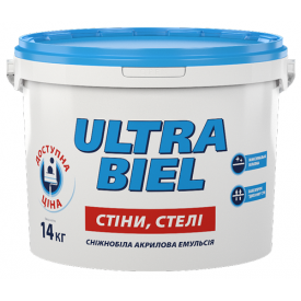Краска Sniezka ULTRA BIEL 5 л 7 кг