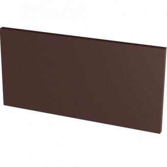 Напольная клинкерная плитка подступень гладкая Paradyz Natural BROWN 30х14,8х1,1 см