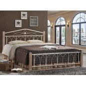 Кровать Domini Design Миранда 1660x2150x950 мм крем