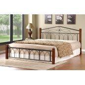 Кровать Domini Design Миранда 1660x2150x950 мм каштан