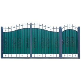 Кованые ворота ВД-03 3450х2150 мм