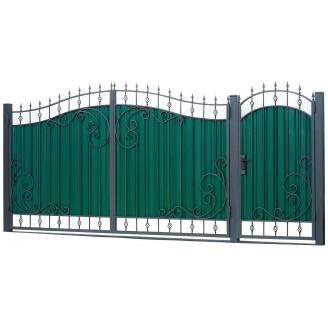 Кованые ворота ВД-08 3450х2150 мм
