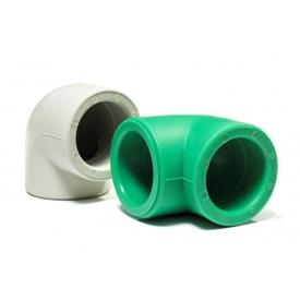 Колено 90 градусов полипропиленовое PipeLife PP-R ВН 20 мм