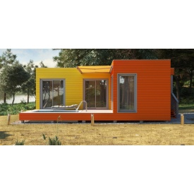 Будівництво каркасного будинку по технології prefab